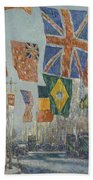 Avenue Of The Allies Bath Towel