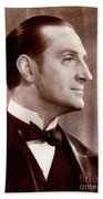Basil Rathbone, Actor Hand Towel
