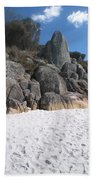 Bay Of Fires. Tasmania Bath Towel