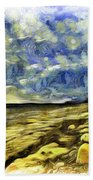 Birling Gap And Seven Sisters Art Hand Towel