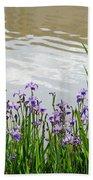 Blue Daffodils Bath Towel