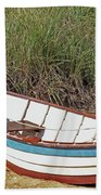 Boat And Anchor Bath Towel