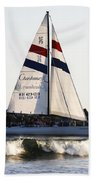 2 Boats Approach Hand Towel