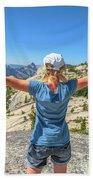 Break After Yosemite Hiking Bath Towel