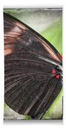 Brush-footed Butterfly Bath Towel