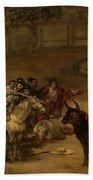 Bullfight - Suerte De Varas Bath Towel