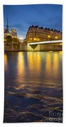 Cathedral Notre Dame - Paris Bath Towel