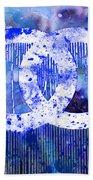Chanel Art Print Bath Towel