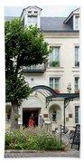 Chantilly France Street Scenes Bath Towel