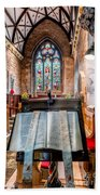 Church Interior Bath Towel
