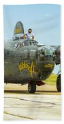 Consolidated B-24j Liberator Bath Towel