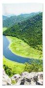 Crnojevic River, Montenegro Hand Towel
