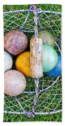 Croquet Balls Bath Towel