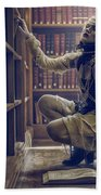 Dark Tales And The Rose Of Solitude Bath Towel