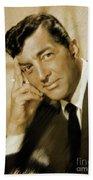 Dean Martin, Actor, Crooner Hand Towel