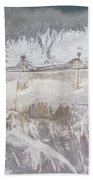 Degraded Landscape Minerals Mine In South Of Poland.  Bath Towel