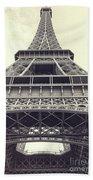 Eiffel Tower By The Seine Bath Towel