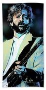 Eric Clapton Bath Towel