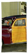 Ford California Woody Station Wagon Bath Towel