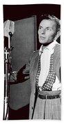 Frank Sinatra William Gottlieb Photo Liederkranz Hall New York City 1947-2015 Bath Towel