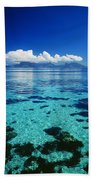 French Polynesia, Moorea Bath Towel