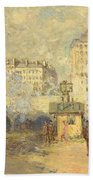 Gare Saint Lazare Bath Towel