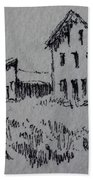 Garnet Ghost Town Montana Bath Towel