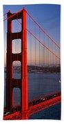 Golden Gate Bridge San Francisco Ca Bath Towel