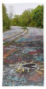 Graffiti Highway, Facing North Bath Towel