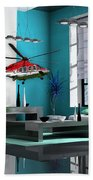 Helicopter Art Hand Towel