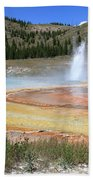 Imperial Geyser, Yellowstone Np Bath Towel