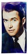 Jimmy Stewart, Vintage Movie Star Bath Towel