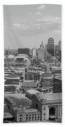 Kansas City Skyline Bath Towel