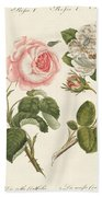 Kinds Of Roses Bath Towel