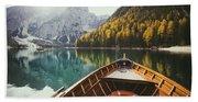 Lago Di Braies Hand Towel