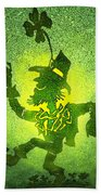 Leprechaun Bath Towel