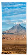 Licancabur Volcano View Bath Towel