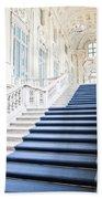 Luxury Interior In Palazzo Madama, Turin, Italy Bath Towel