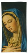 Madonna At Prayer Bath Towel
