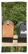 Mail Boxes  Bath Towel