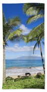 Makena, Maluaka Beach Bath Towel