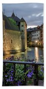Medieval Jail In Annecy Bath Towel
