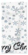 Christmas Card 8 Bath Towel