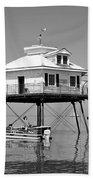 Mobile Bay Lighthouse Bath Towel
