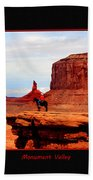 Monument Valley II Bath Towel