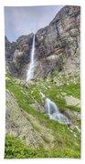 Mountain Waterfall Bath Towel