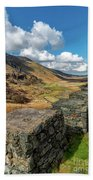 Nant Ffrancon Pass Snowdonia Bath Towel