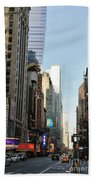 New York City Times Square Hand Towel