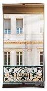 Open Window In Toulouse Bath Towel