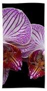 2 Orchids Bath Towel
